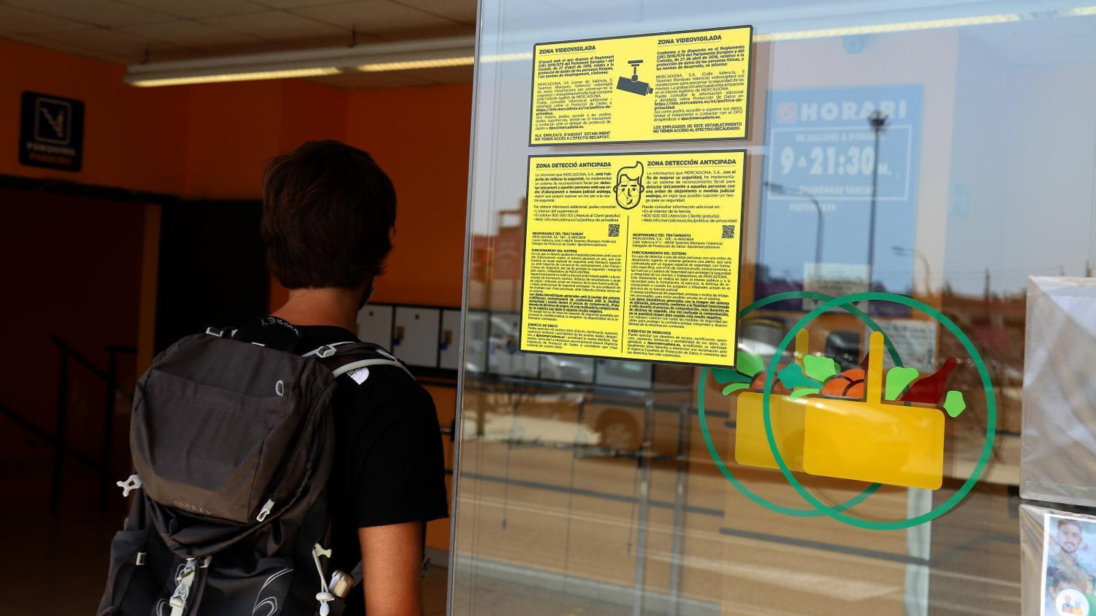 Mercadona converteix Mallorca en el seu laboratori de reconeixement facial