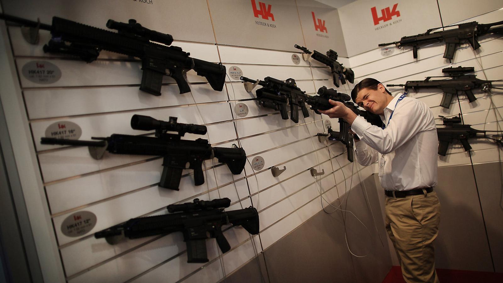 El judici més gran de la història alemanya contra l'exportació il·legal d'armes curtes