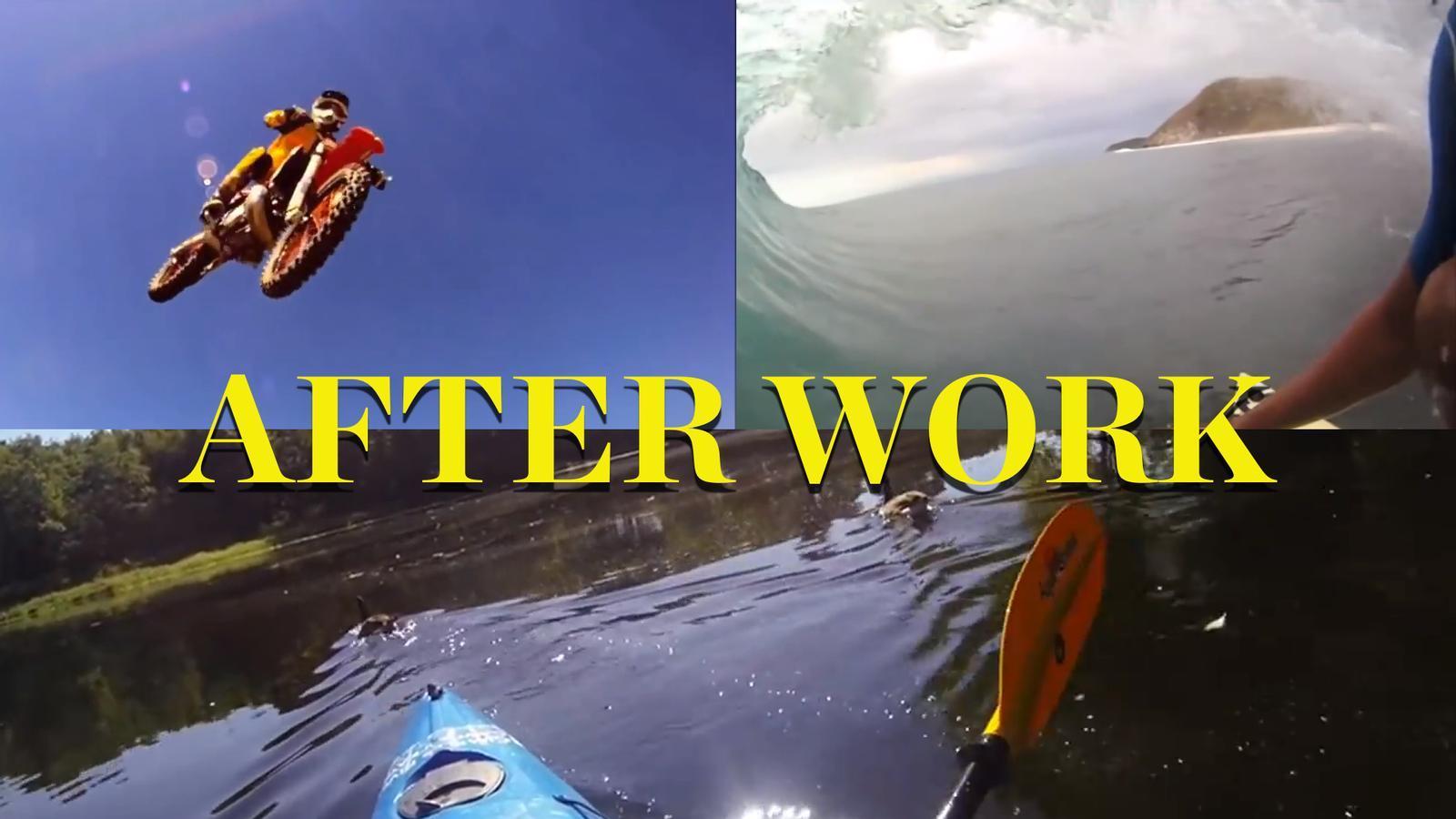After Work: Les imatges més espectaculars gravades fins ara amb una GoPro