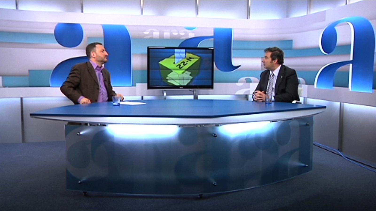 Toni Soler entrevista Jordi Hereu