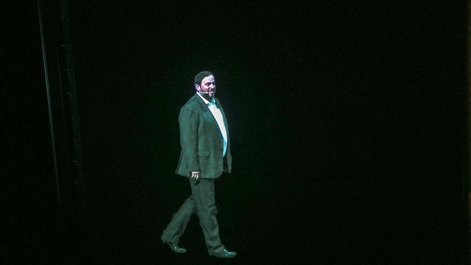 L'anàlisi d'Antoni Bassas: 'Una conferència amb holograma'