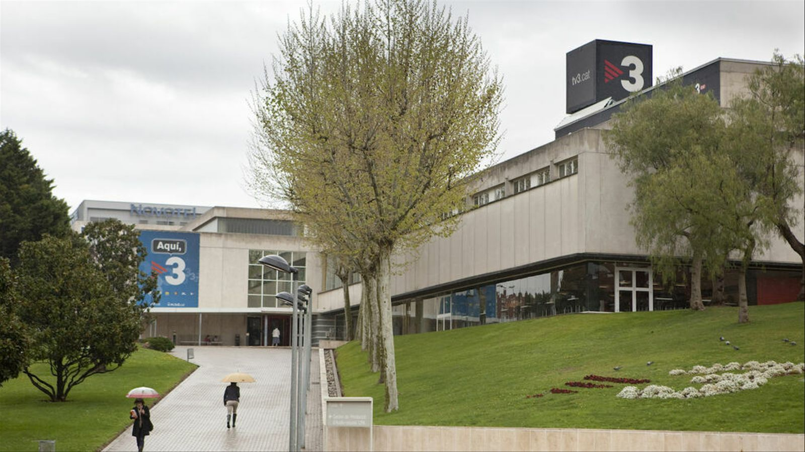 Els estudis de TV3, a Sant Joan Despí