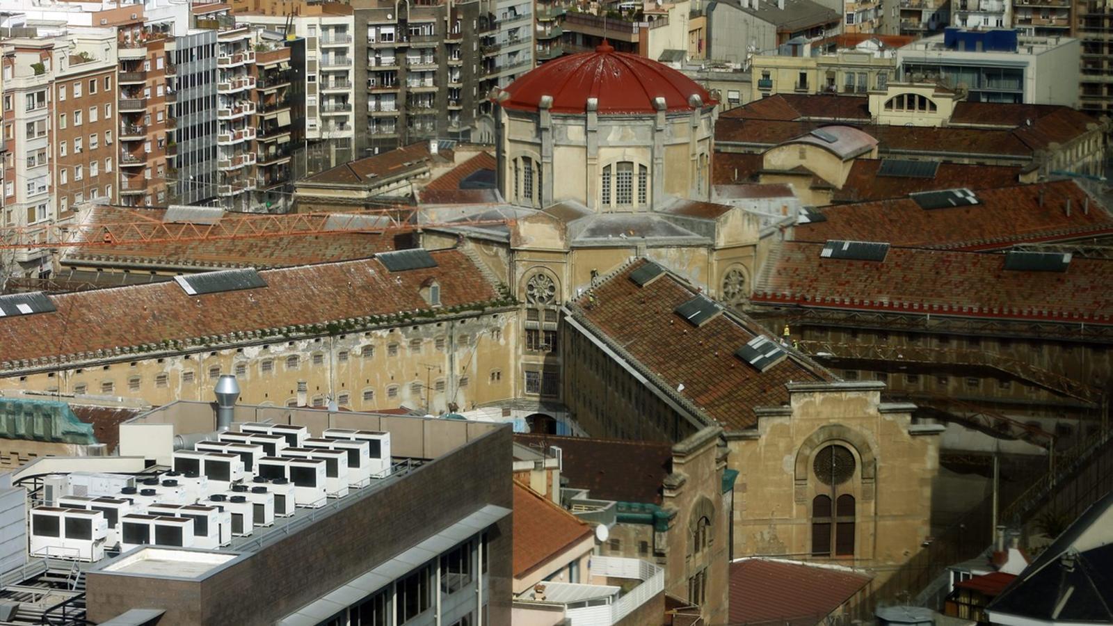 Imatge del centre penitenciari de La Model a Barcelona.