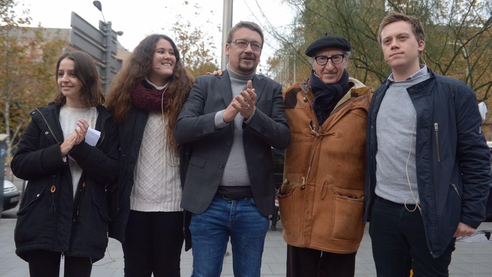 Els comuns refusen la petició de Ciutadans d'abstenir-se per facilitar la investidura d'Arrimadas