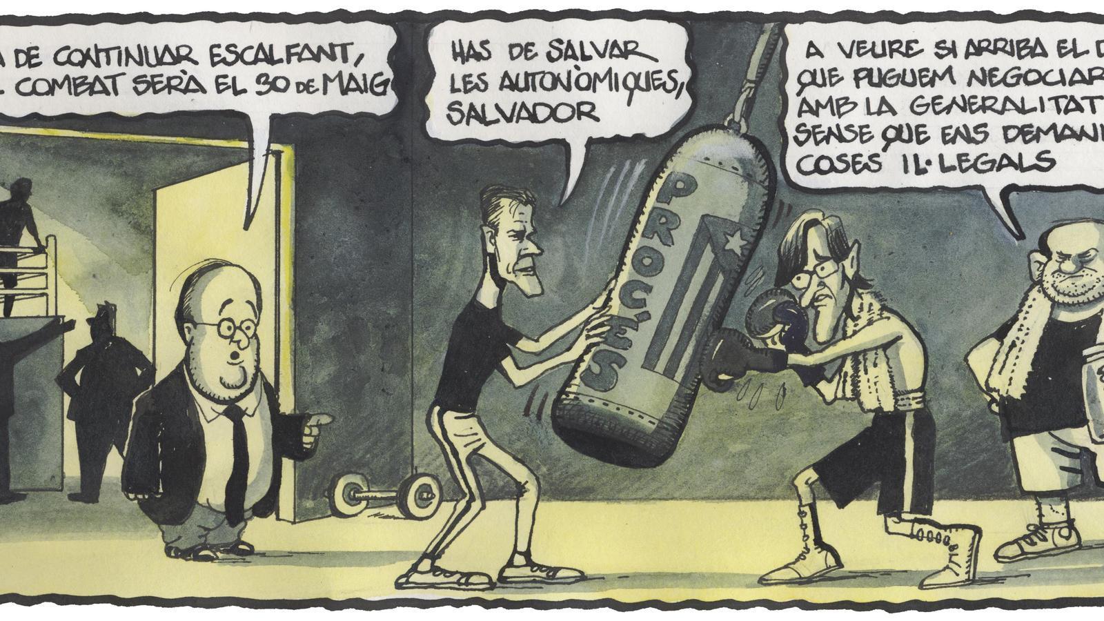 'A la contra', per Ferreres 18/01/2021