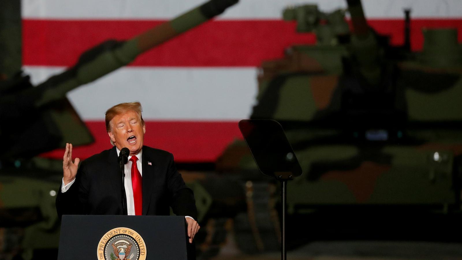 Trump reconeix la sobirania d'Israel dels alts del Golan