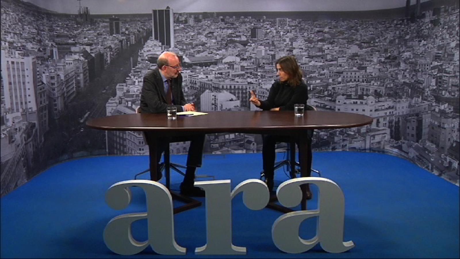 Entrevista d'Antoni Bassas a Ester Bonal