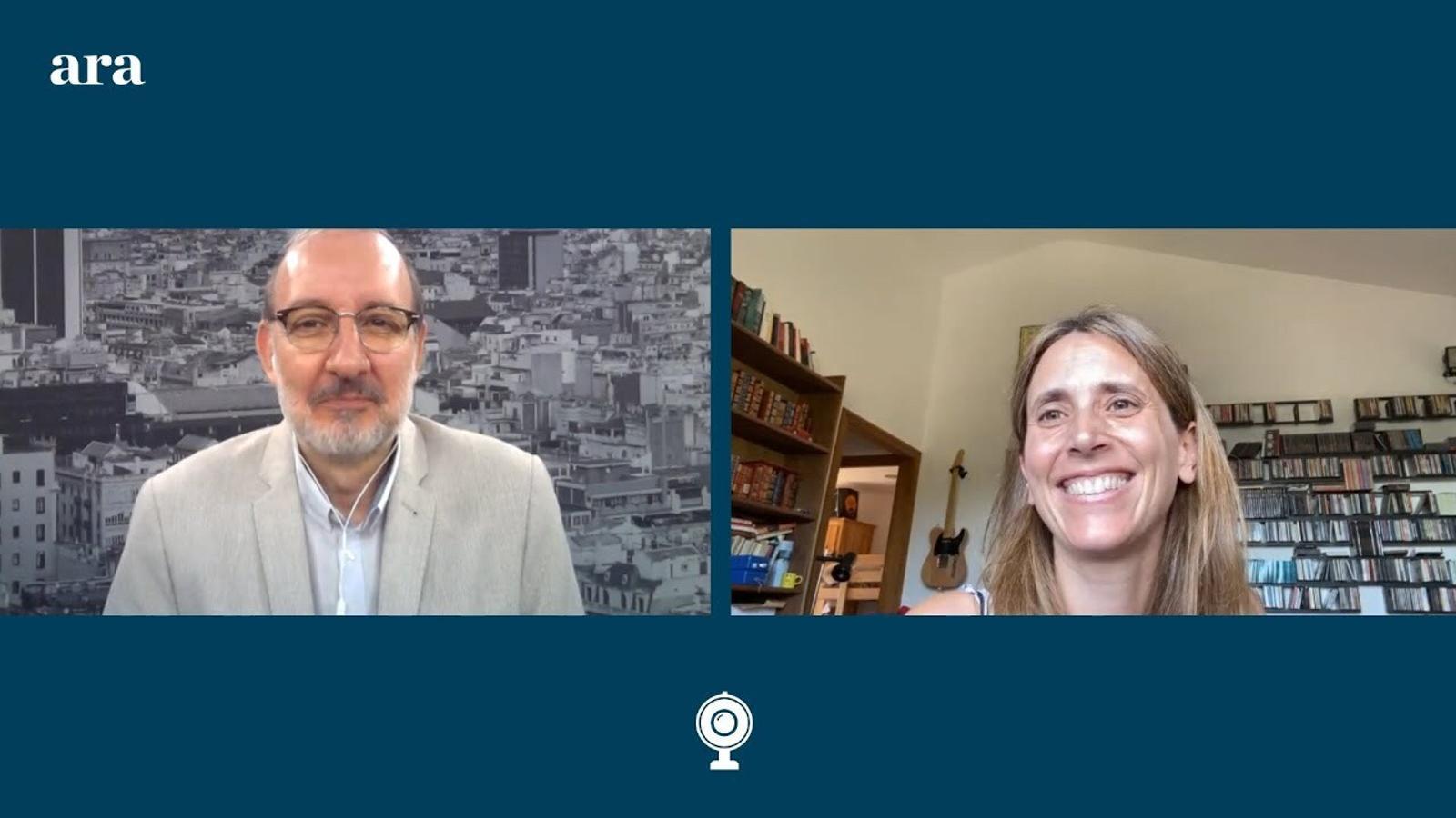Entrevista d'Antoni Bassas a Clara Prats