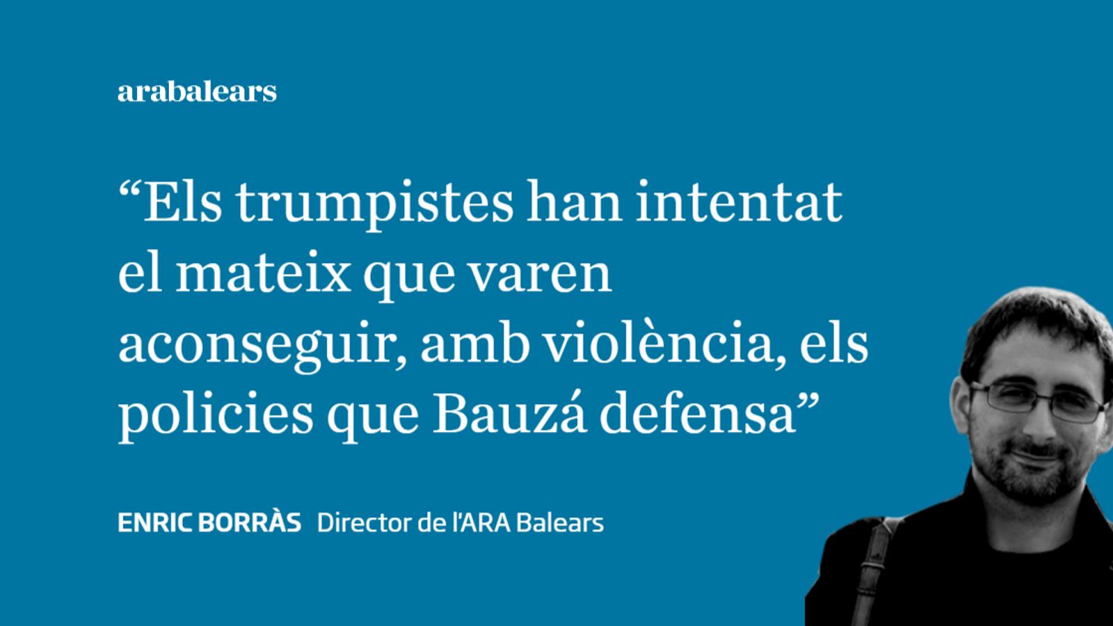 Bauzá, l'expresident desinformador