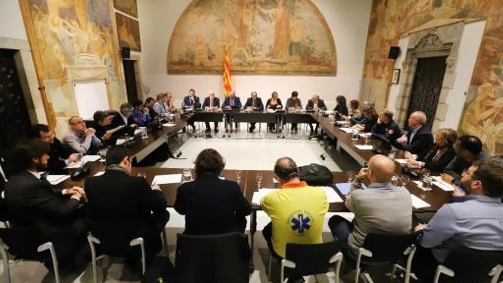 Reunió del Comitè Tècnic del Pla de Protecció Civil de Catalunya (Procicat)