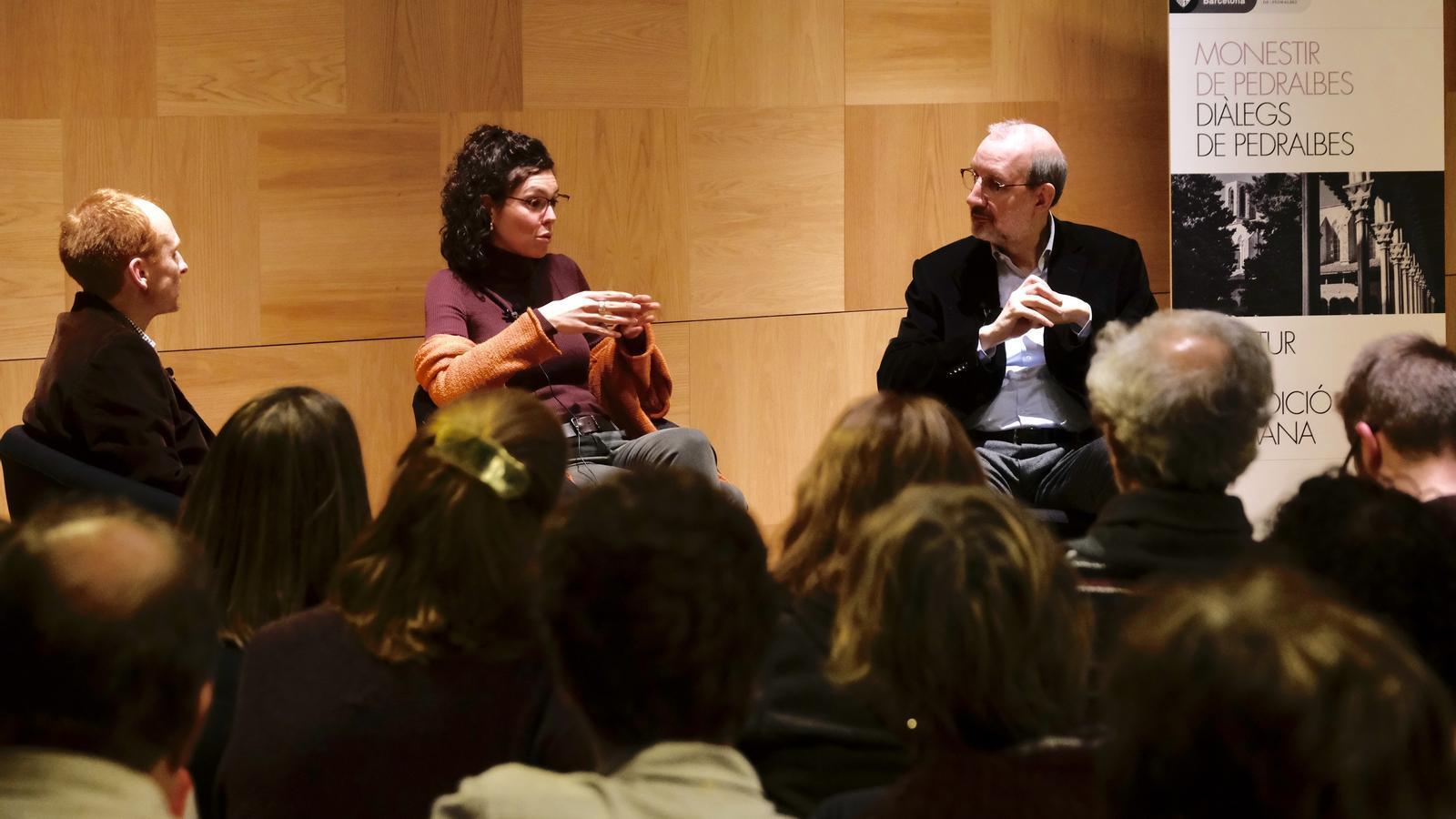 """La """"tecno-optimista radical"""" Liliana Arroyo obre els 'Diàlegs de Pedralbes'"""