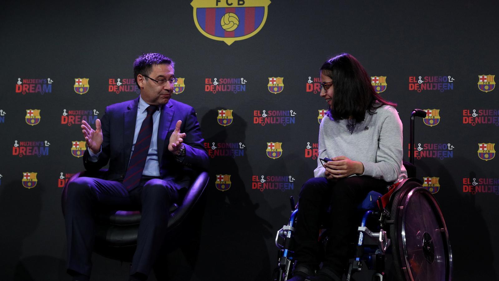 La campanya nadalenca més emotiva del Barça: la història de la Nujeen