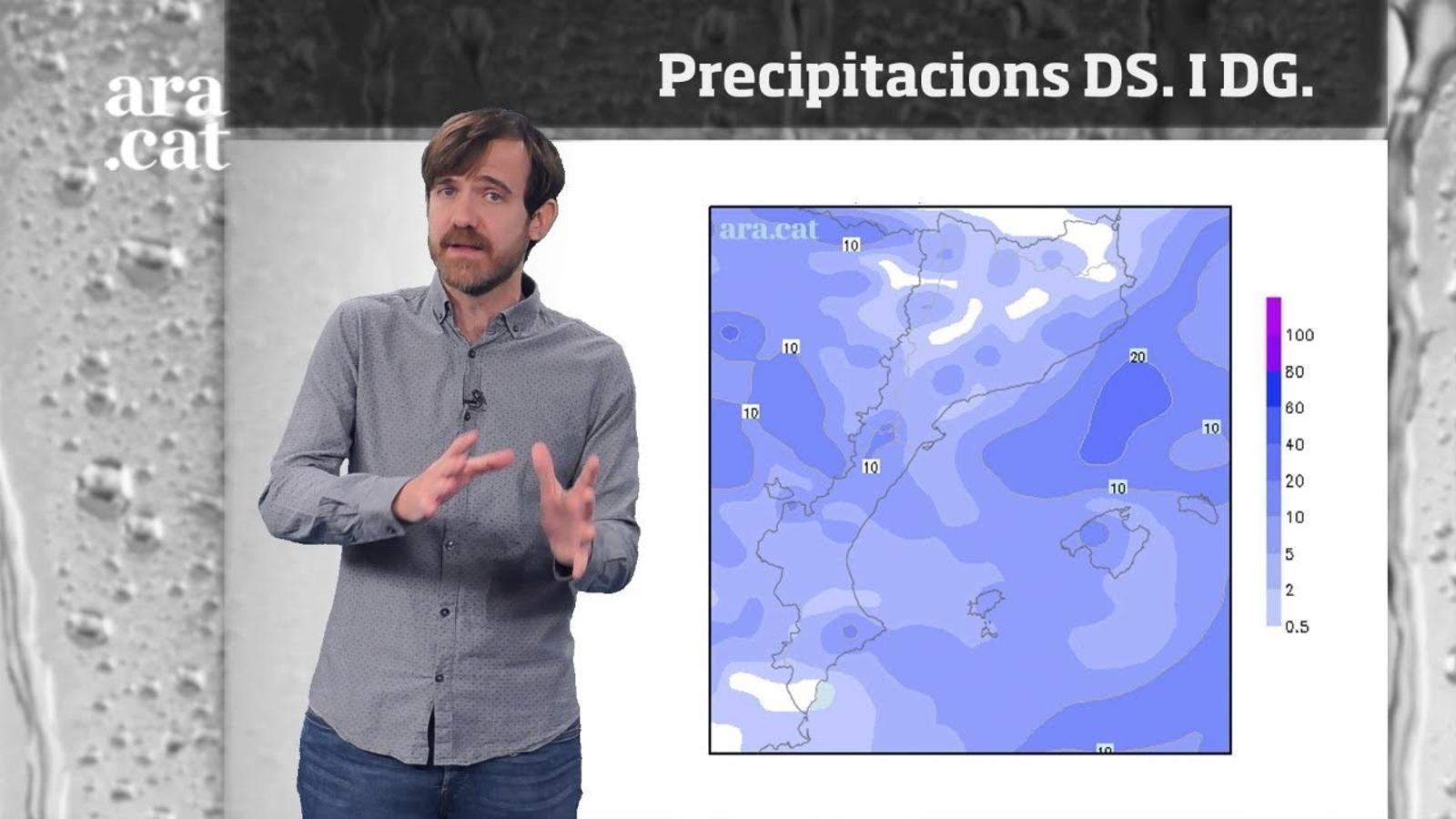 La méteo en 1 minut: canvi de temps i ambient molt més d'hivern