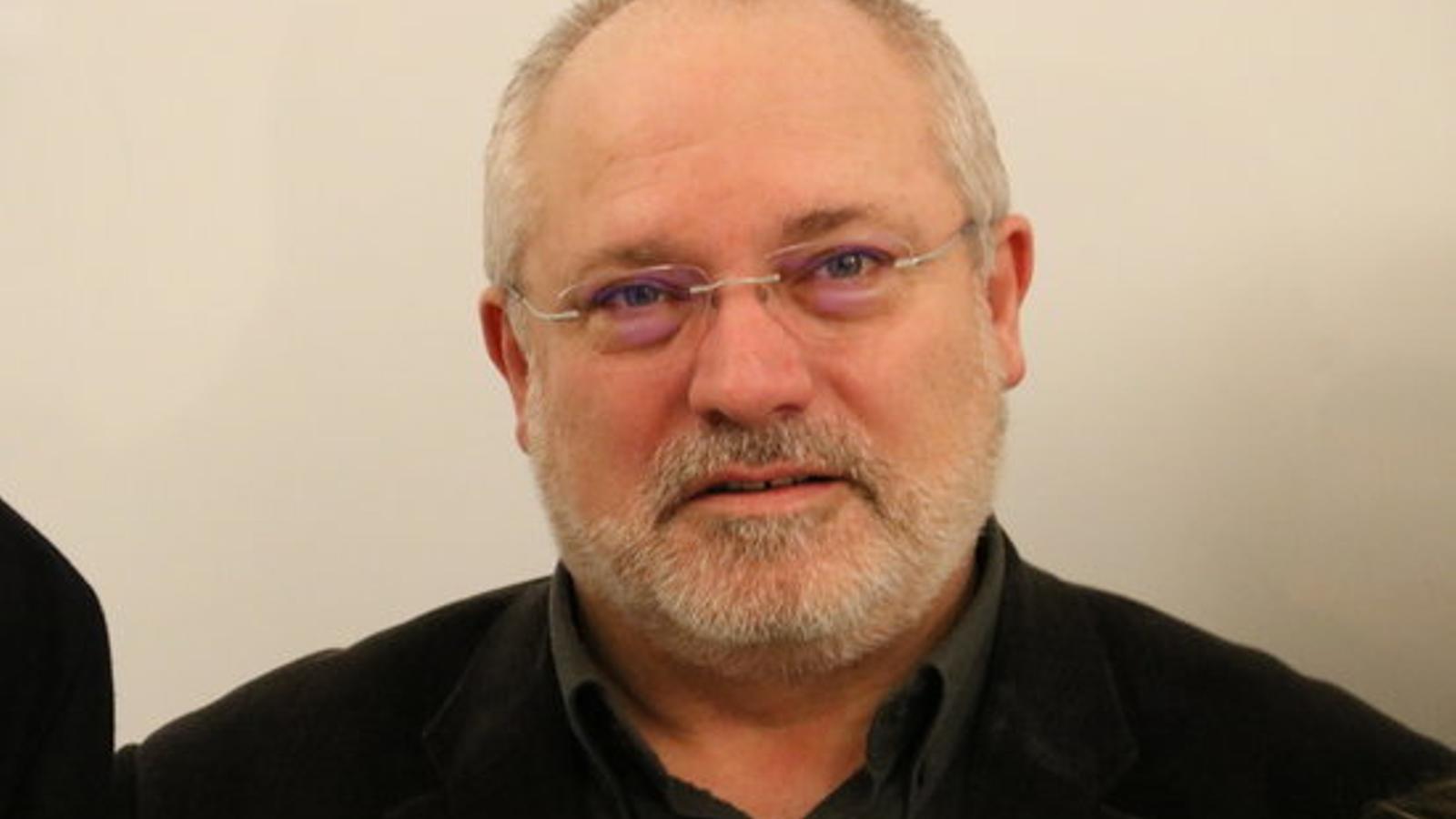 El conseller de Cultura Lluís Puig, aquest dilluns a Brussel·les