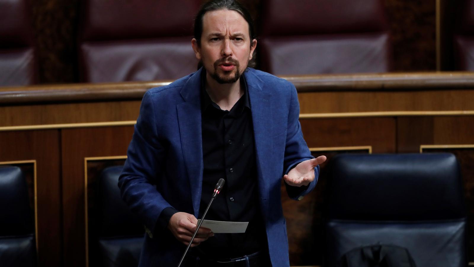 """Iglesias acusa el PP de """"cridar a la insubordinació"""" de la Guàrdia Civil"""