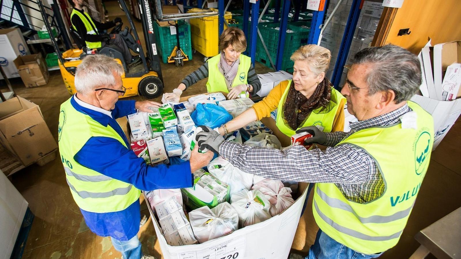 Arriben a Mallorca 268 mil quilos d'aliments provinents de fons europeus