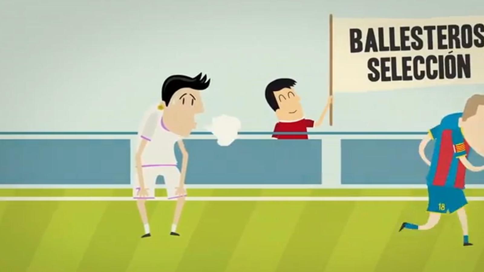 El Llevant busca nous abonats amb un vídeo on recorden el dia que Ballesteros va ser més ràpid que Cristiano