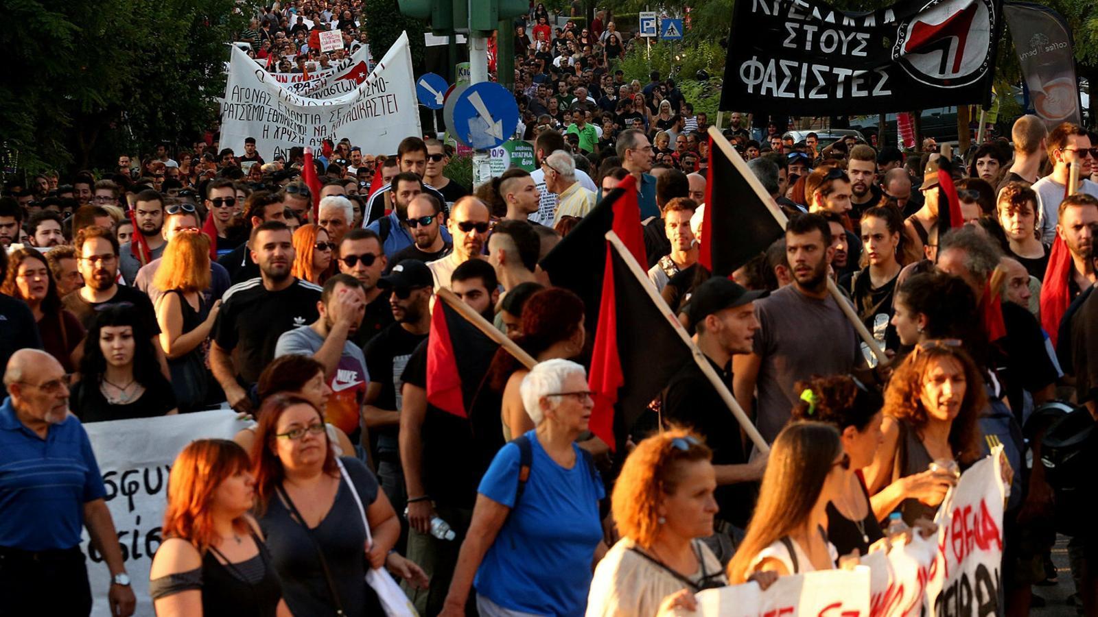 Sis anys de l'assassinat que va acabar amb el neonazisme grec