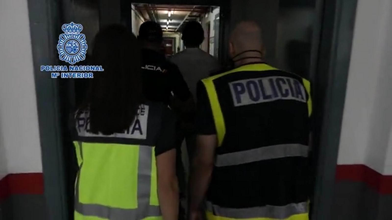 Detingut al Baix Camp un perillós fugitiu condemnat a cadena perpètua a Alemanya