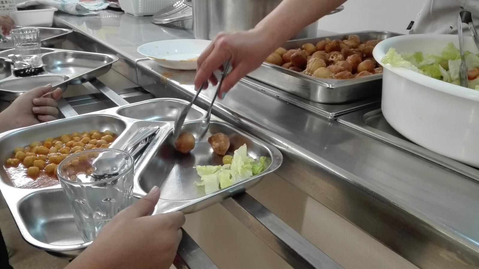 Un menjador escolar. / CCPJ