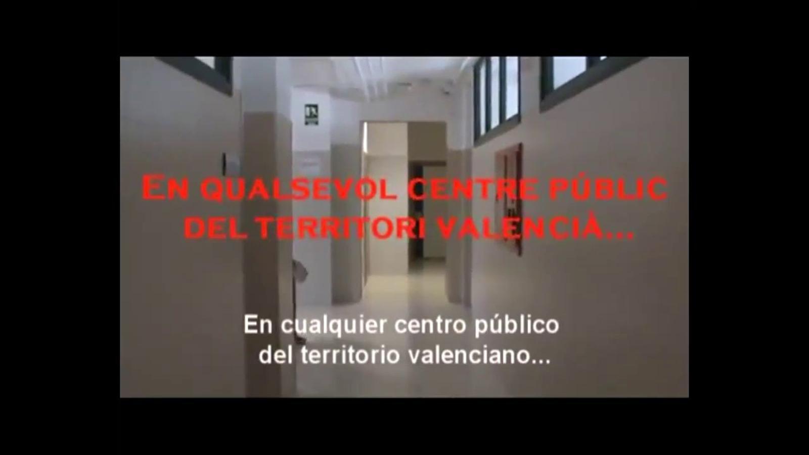 """""""A l'institut estem ben fotuts"""", o el crit dels estudiants valencians contra les retallades en educació"""