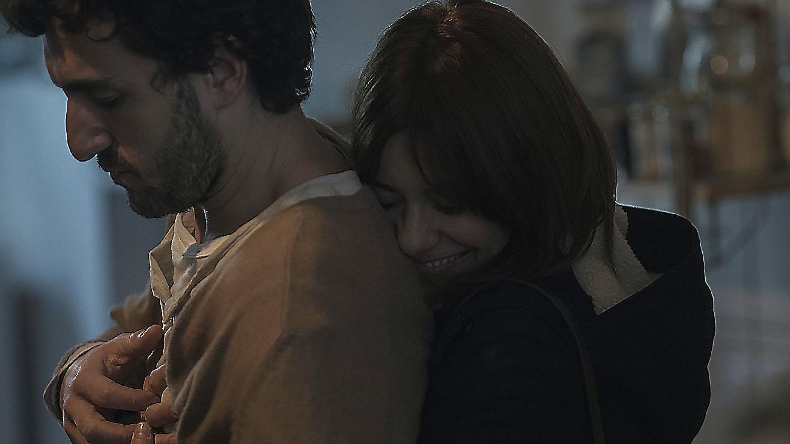 Miki Esparbé i Alexandra Jiménez són dos dels protagonistes de Les distàncies, el segon film d'Elena Trapé.