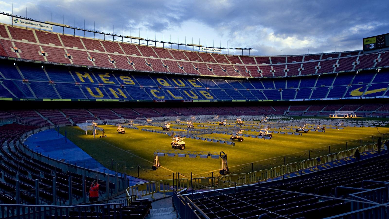 Bartomeu va oferir el Camp Nou com a seu de la final de la Copa del Rei.