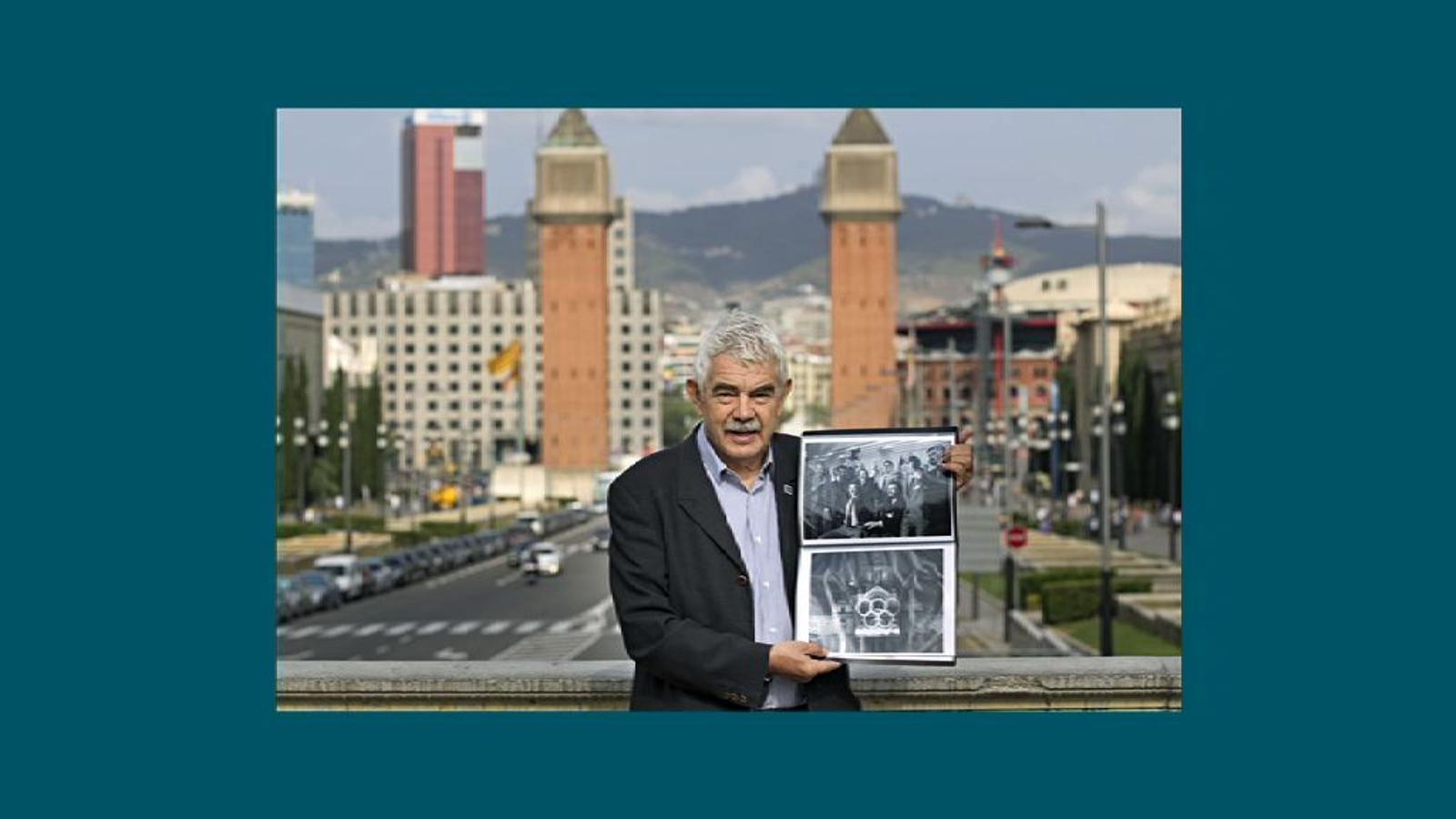 Pasqual Maragall a la portada de l'ARA