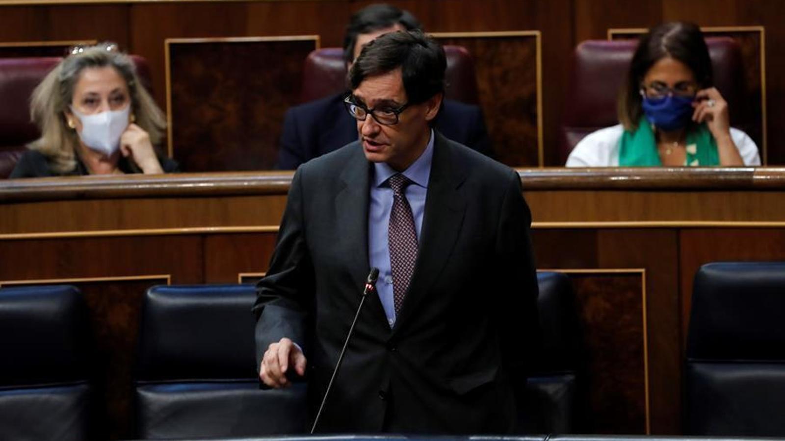 EN DIRECTE | Debat al Congrés sobre l'aplicació de l'estat d'alarma a Madrid