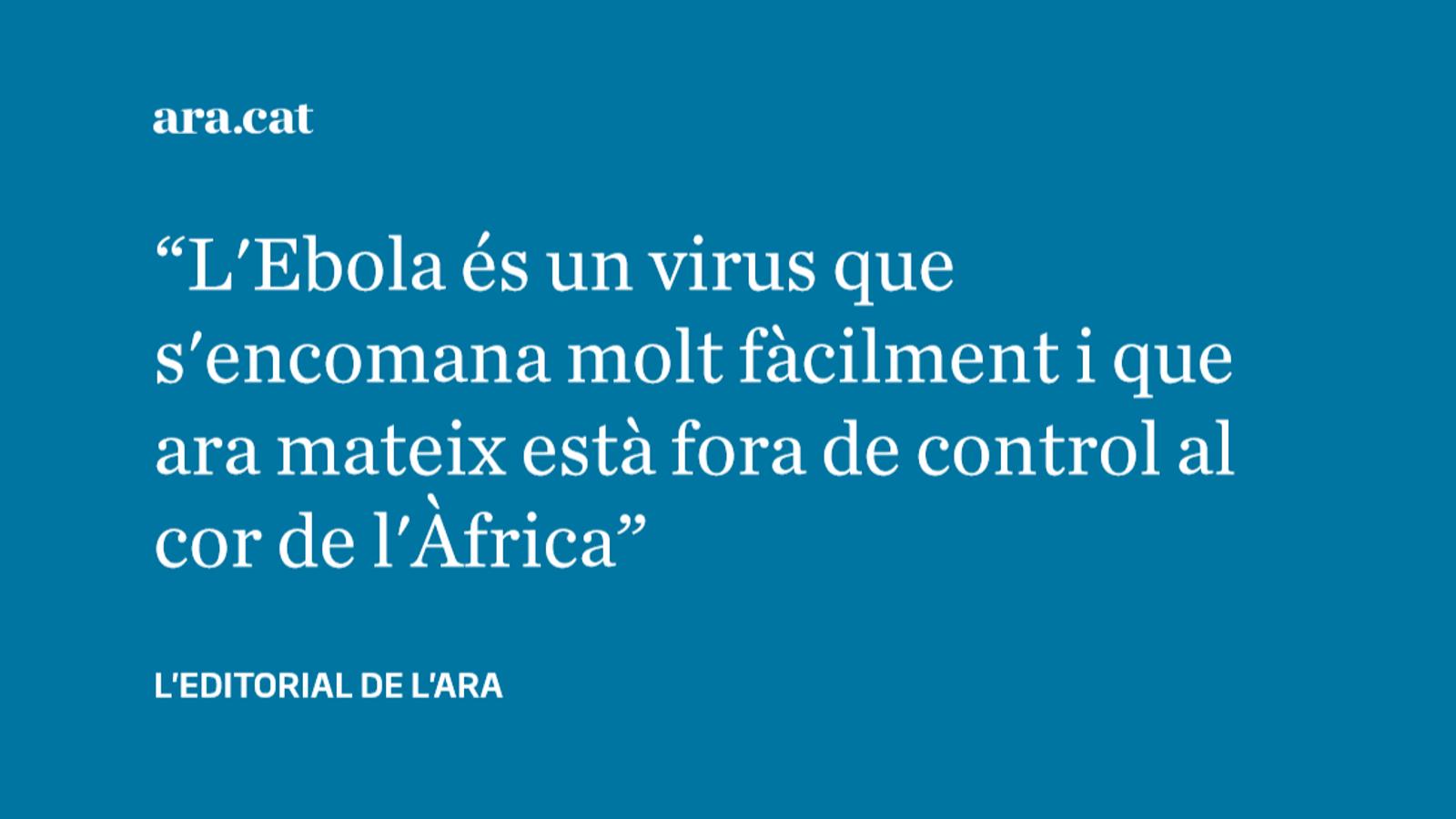 Què hi ha rere l'Ebola i per què ens ha d'importar