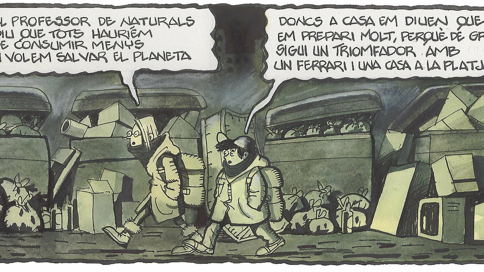 'A la contra', per Ferreres 20/11/2019