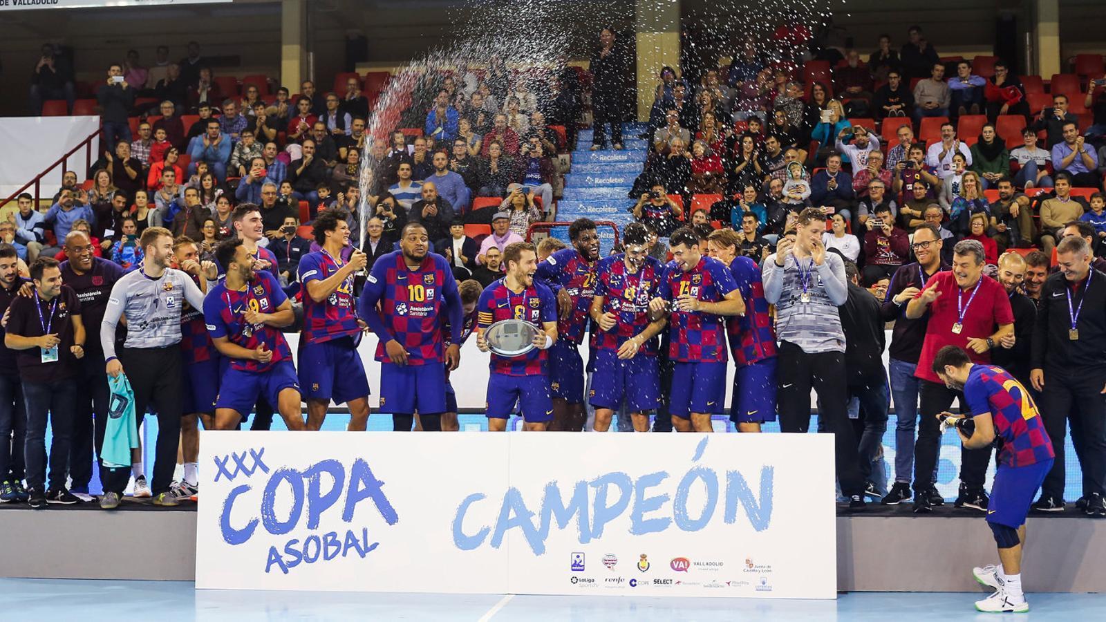 El Barça seguirà jugant la Lliga d'handbol