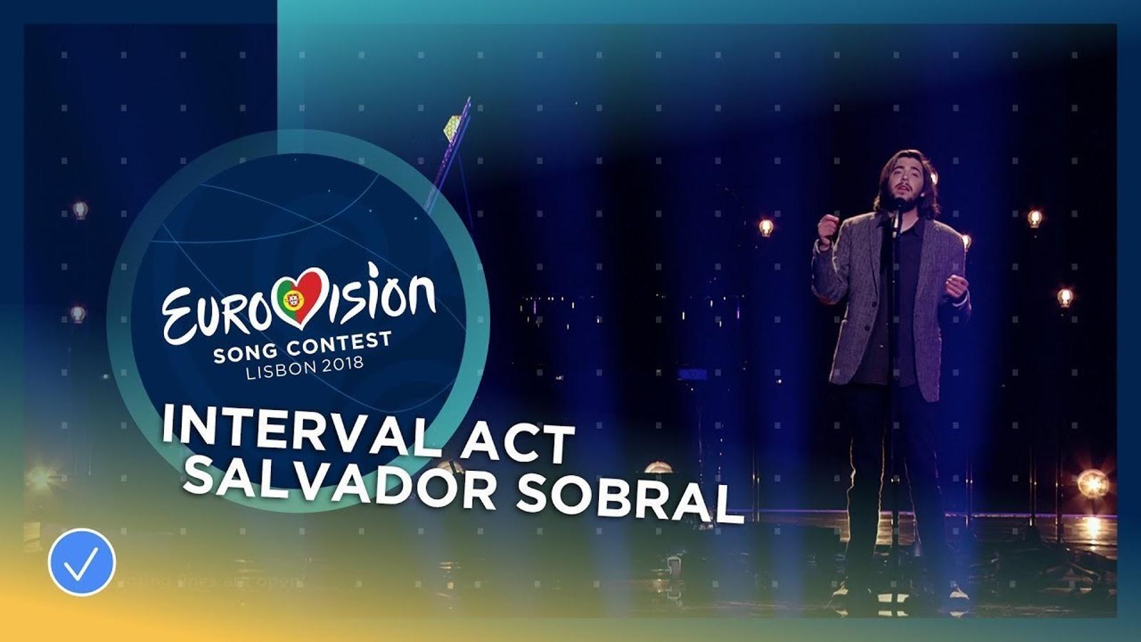 Salvador Sobral i Caetano Veloso