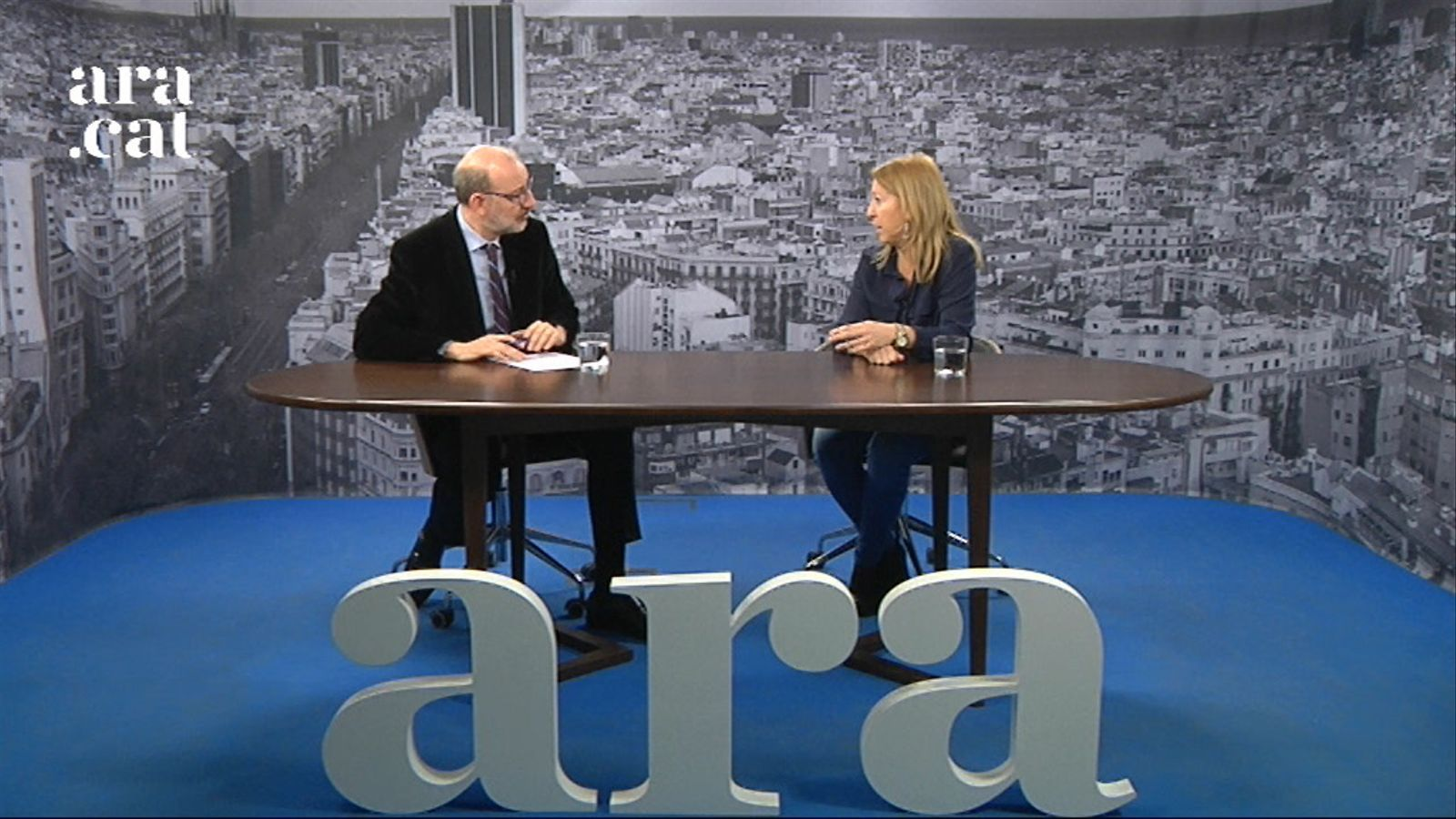 Entrevista d'Antoni Bassas a Neus Munté