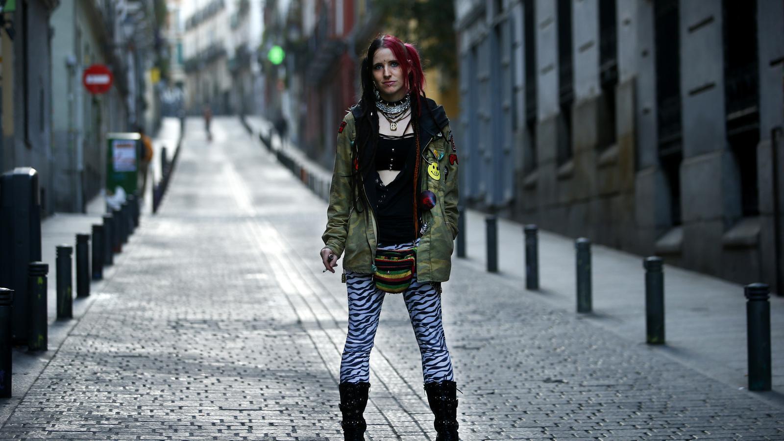 """Elsa V., detinguda en les protestes postsentència a Madrid: """"Em van pegar, insultar i humiliar"""""""