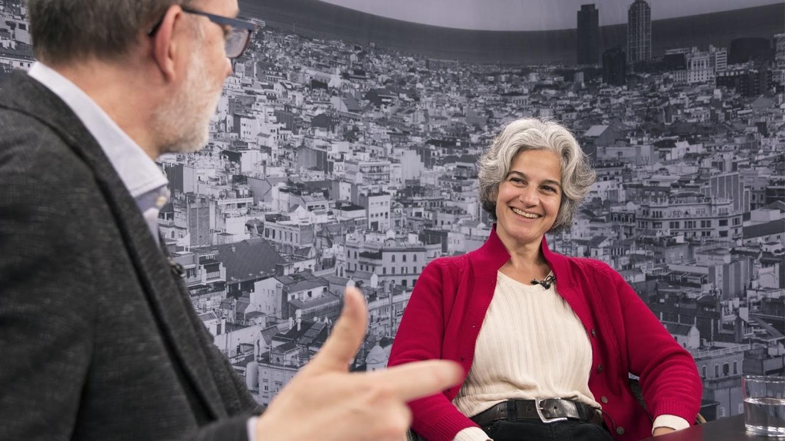 """Maria Bohigas: """"Un fotimer de gent va estudiar filologia catalana perquè tenia moltes sortides laborals, però la literatura se'ls en fotia"""""""