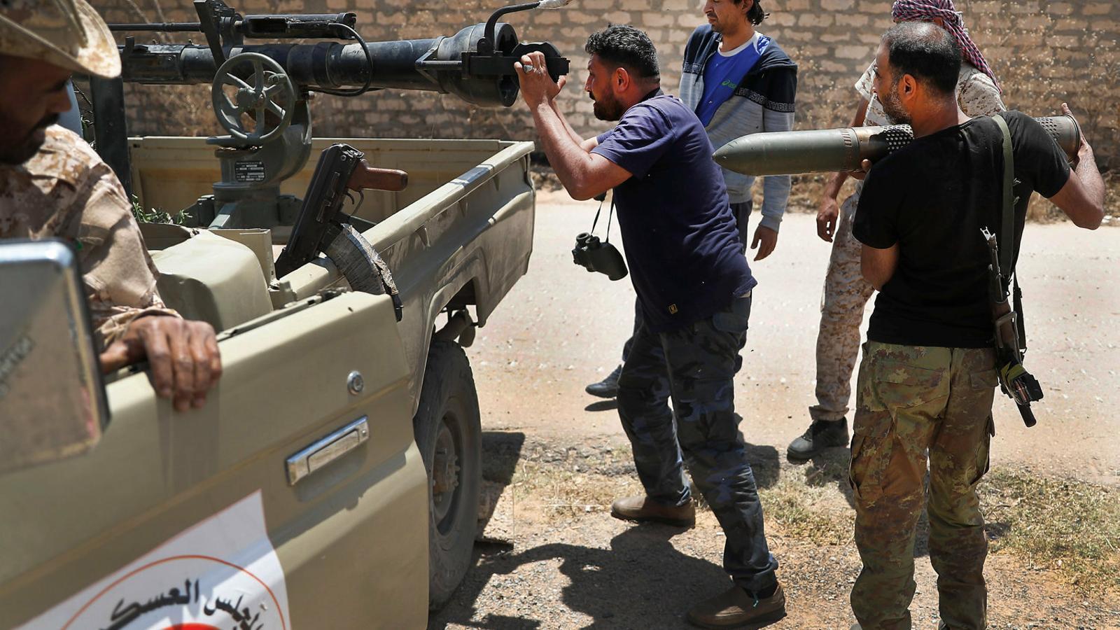 Turquia envia tropes per ajudar el govern de Trípoli