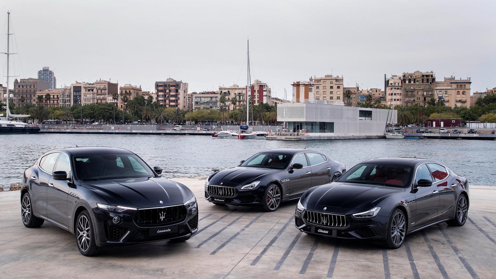 Gamma Maserati  2019: per si   us toca la rifa