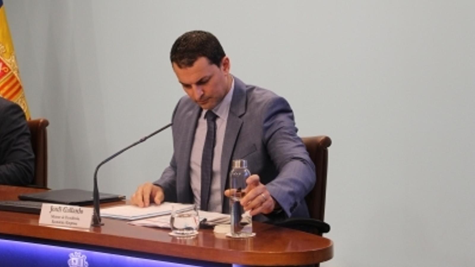 """Gallardo defensa la contractació de l'empresa de Garcia pel """"retorn positiu"""" de la feina ja feta"""