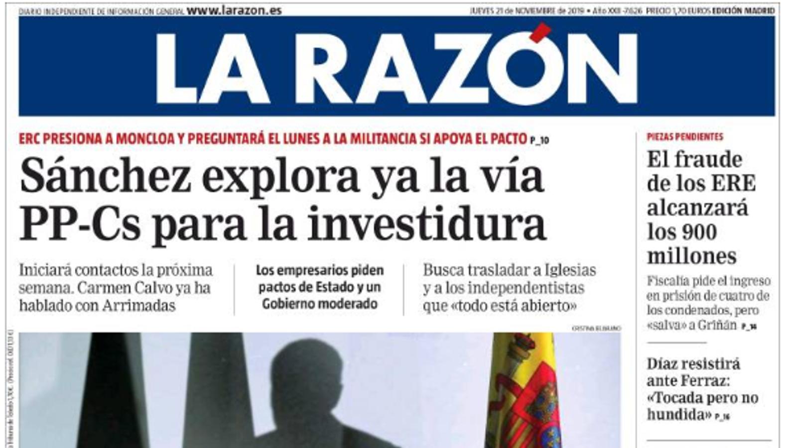 El pacte PSOE i ERC, en el camp de mines mediàtic