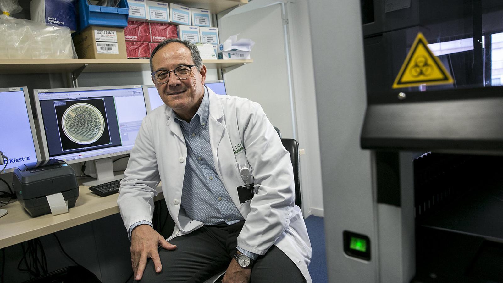 """Jordi Vila: """"El virus desapareixerà a l'agost però entre octubre i novembre tornarà"""""""