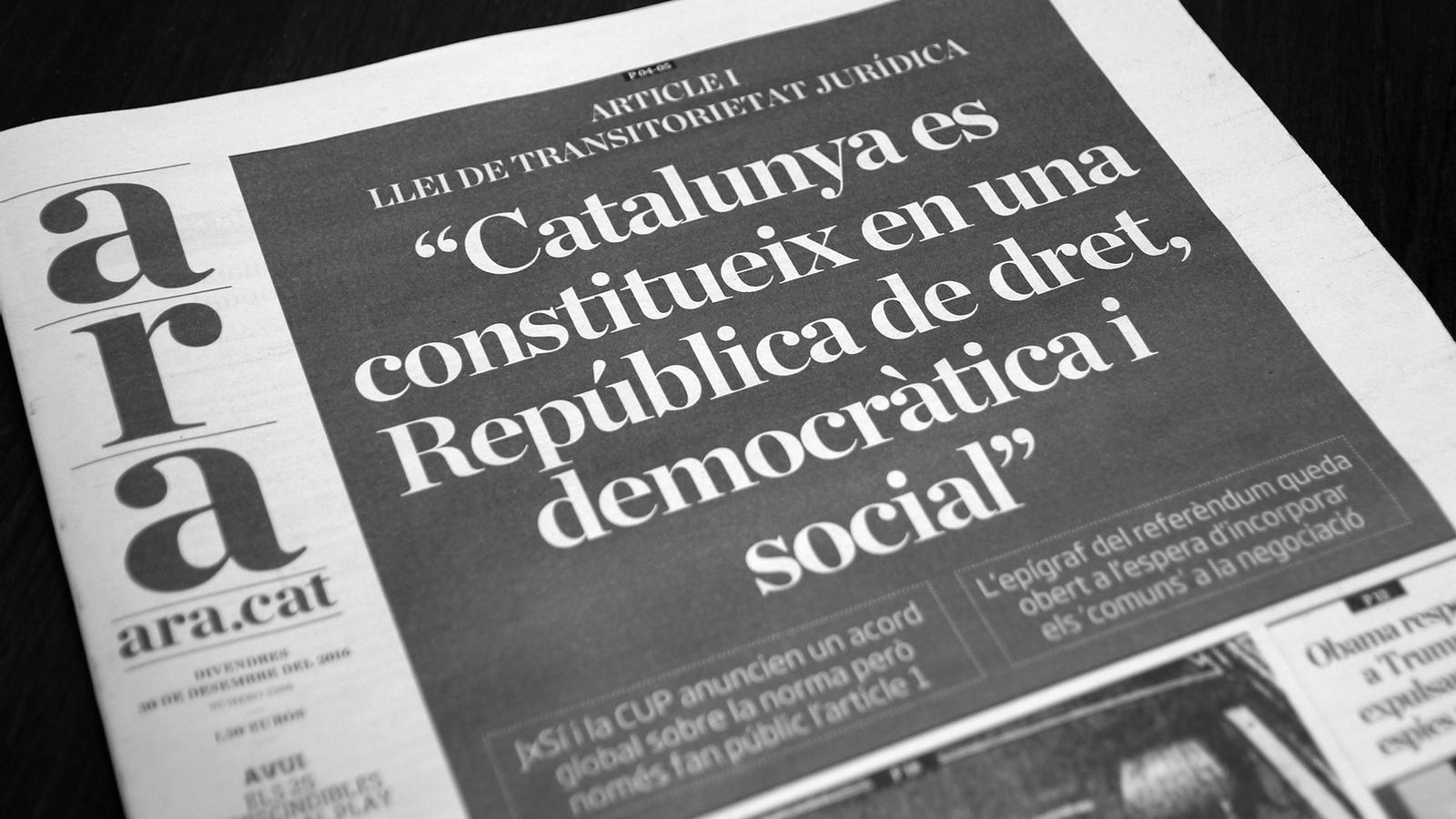 L'anàlisi d'Antoni Bassas: 'La república, a una papereta de distància'