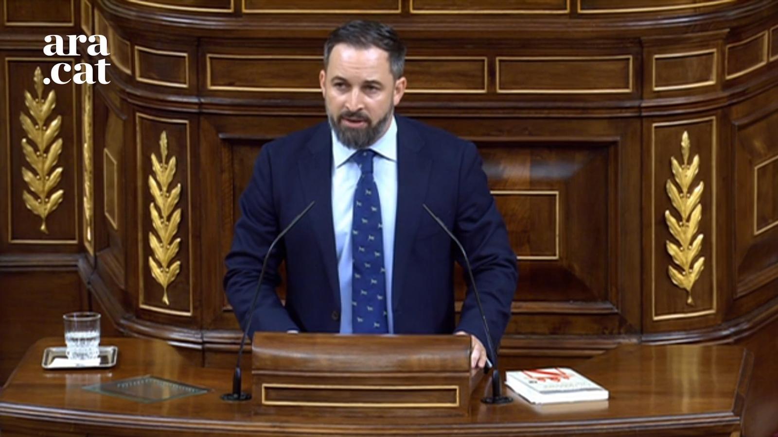 """Abascal: """"Espanya es posarà dempeus si veuen amenaçada la seva pàtria"""""""