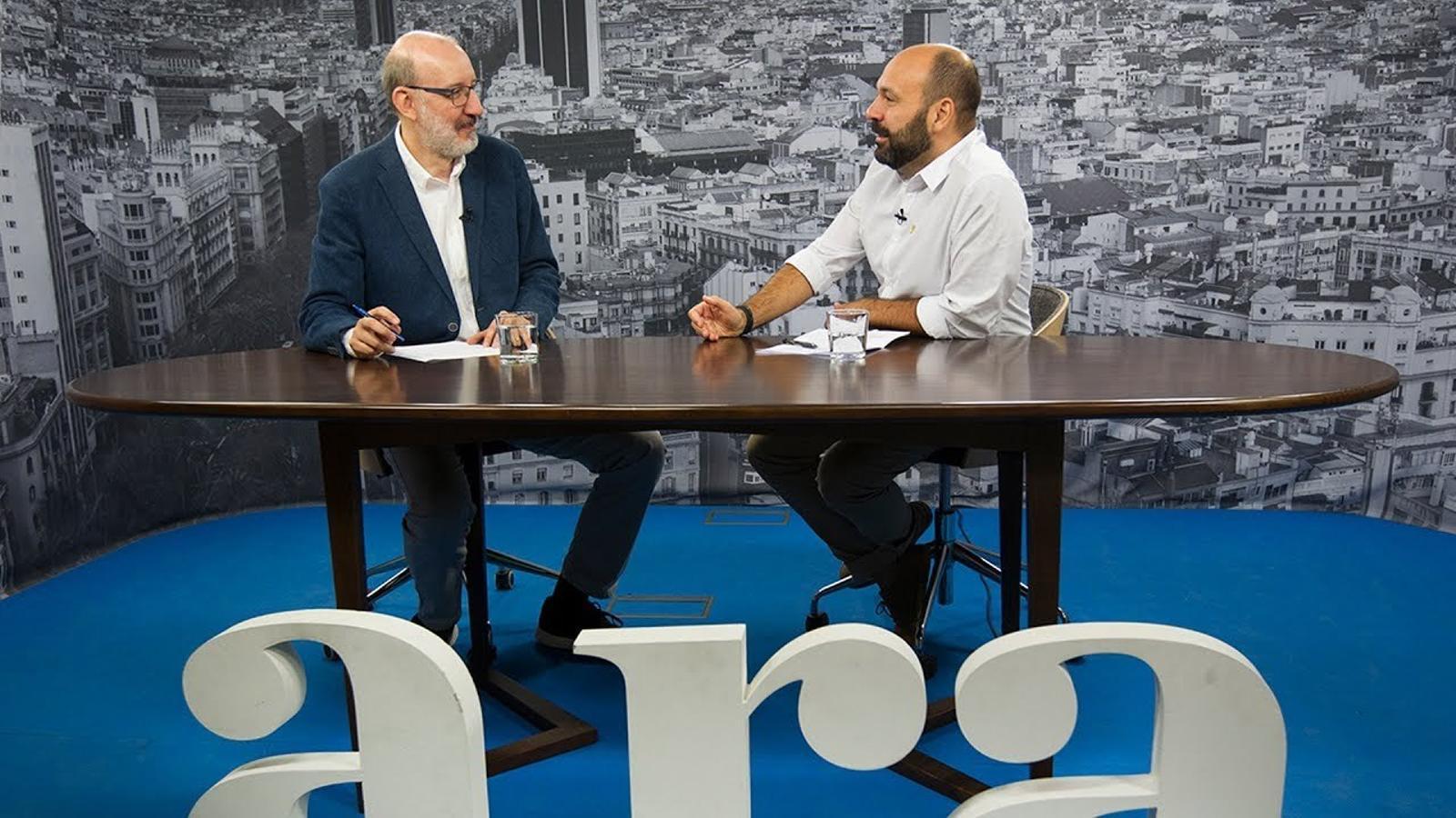 """Marcel Mauri: """"En el diàleg amb l'Estat s'ha de poder plantejar tot i no renunciar a res"""""""