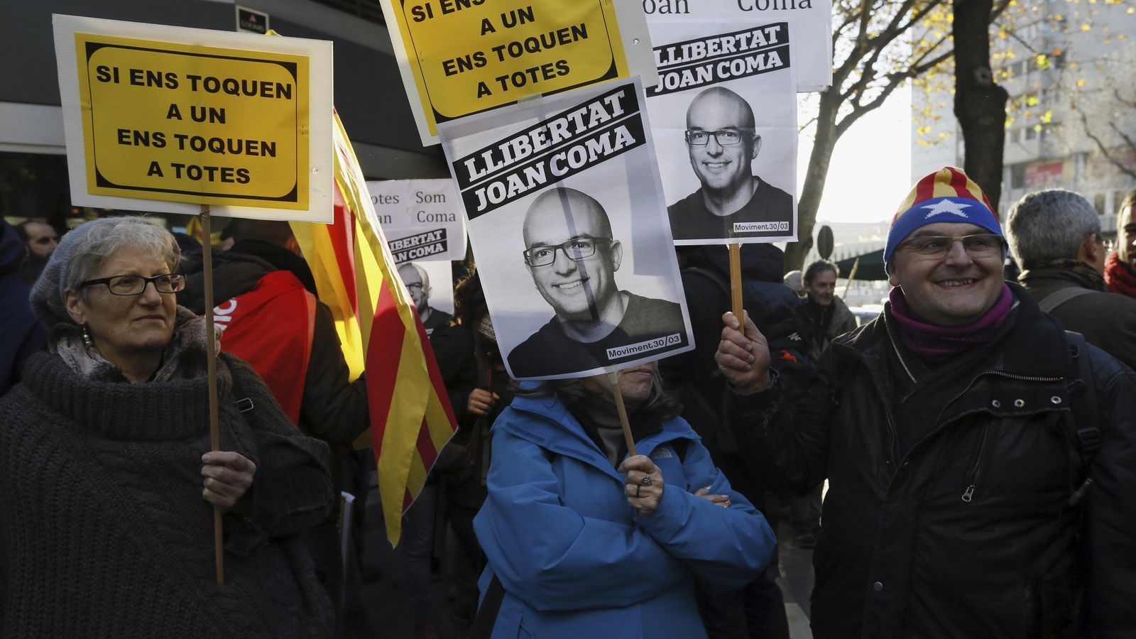 'Afinar' el delicte de sedició per portar Joan Coma a l'Audiència Nacional