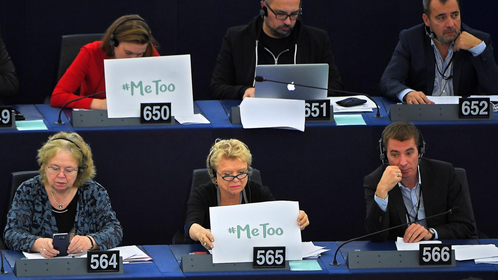 Treballadores de l'Eurocambra denuncien assetjament sexual