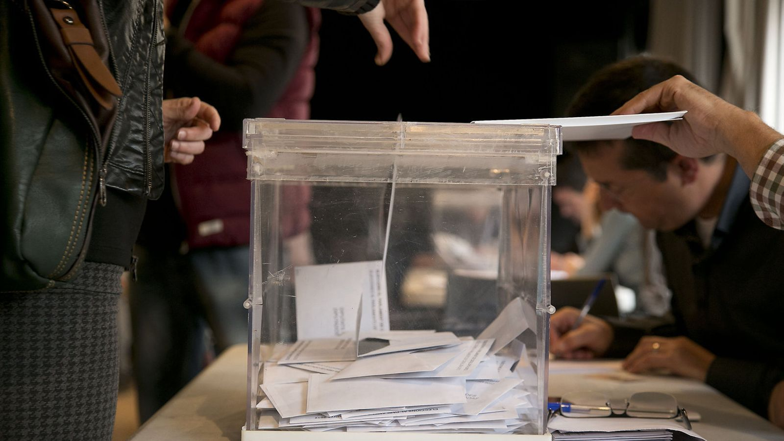 Les condicions del concurs no s'han fet públiques. En aquesta foto, una imatge d'arxiu d'unes eleccions catalanes.
