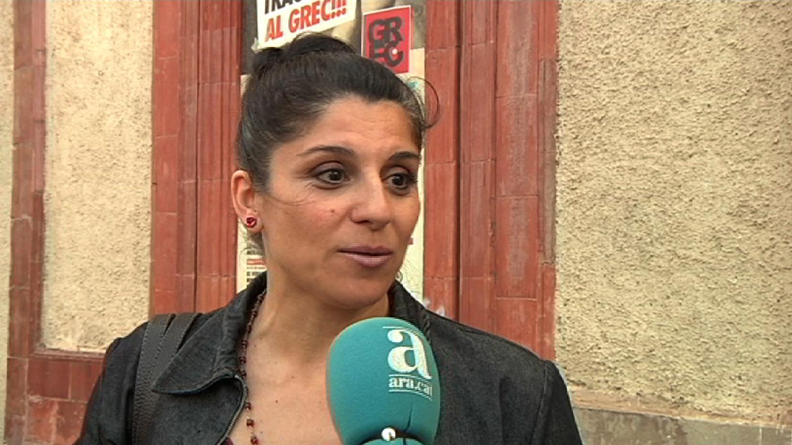 Carmen Ruiz, espectadora del Grec: M'agrada perquè és a la fresca i molt variat