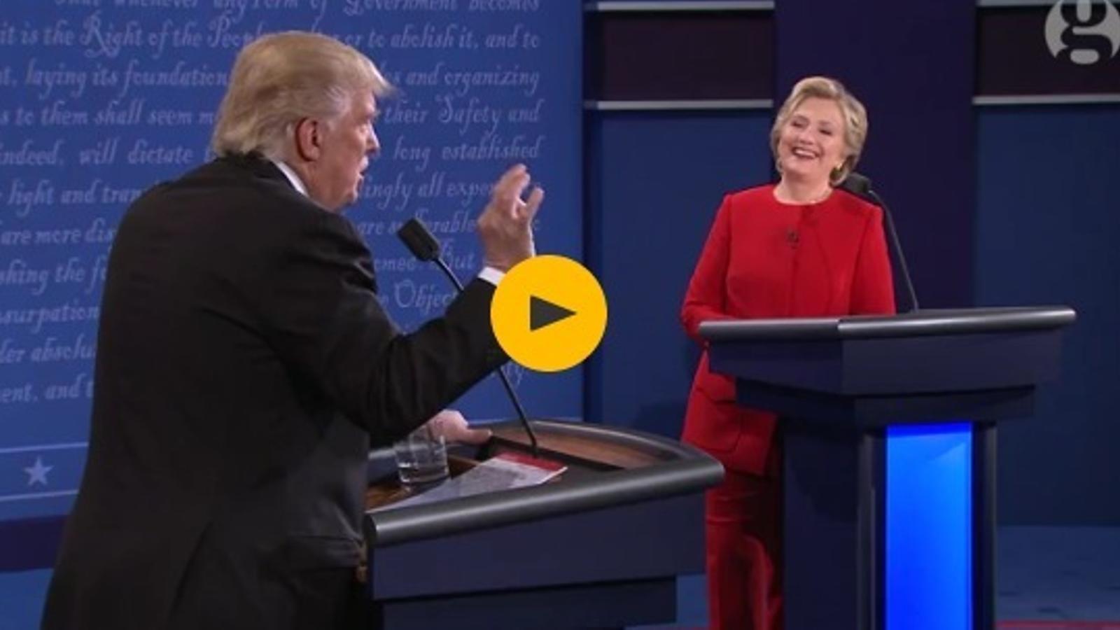 Trump diu que Clinton no té prou energia per ser presidenta