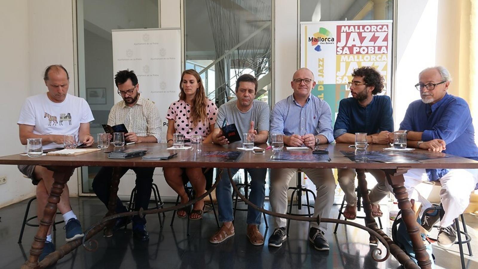 Presentació del Festival Mallorca Jazz sa Pobla.